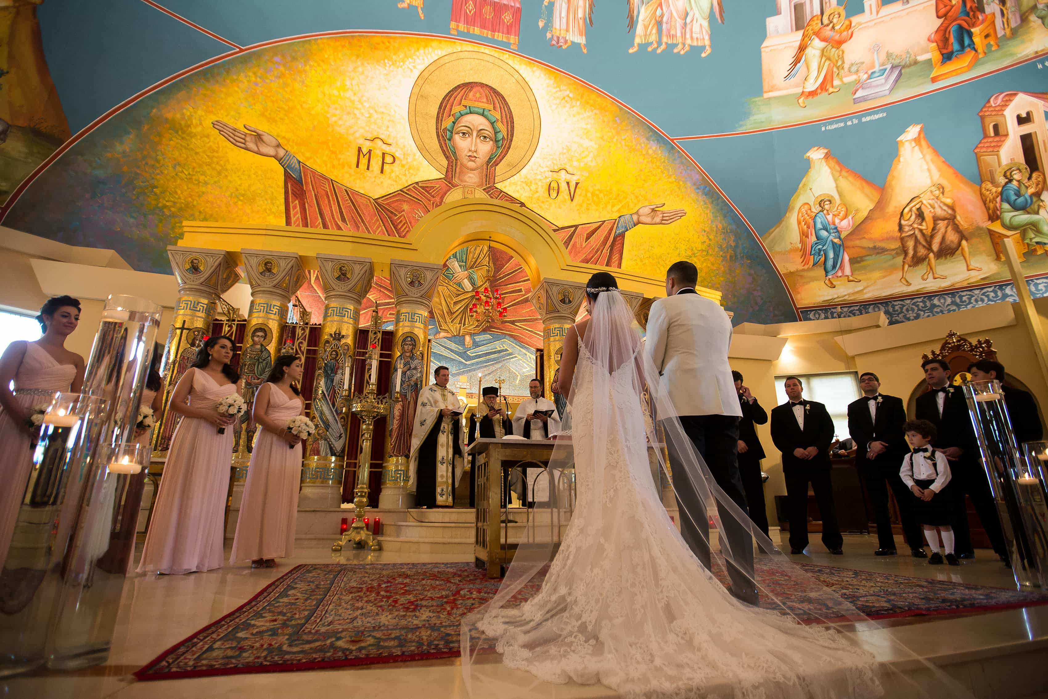Assumption Greek Orthodox Cathedral wedding ceremony