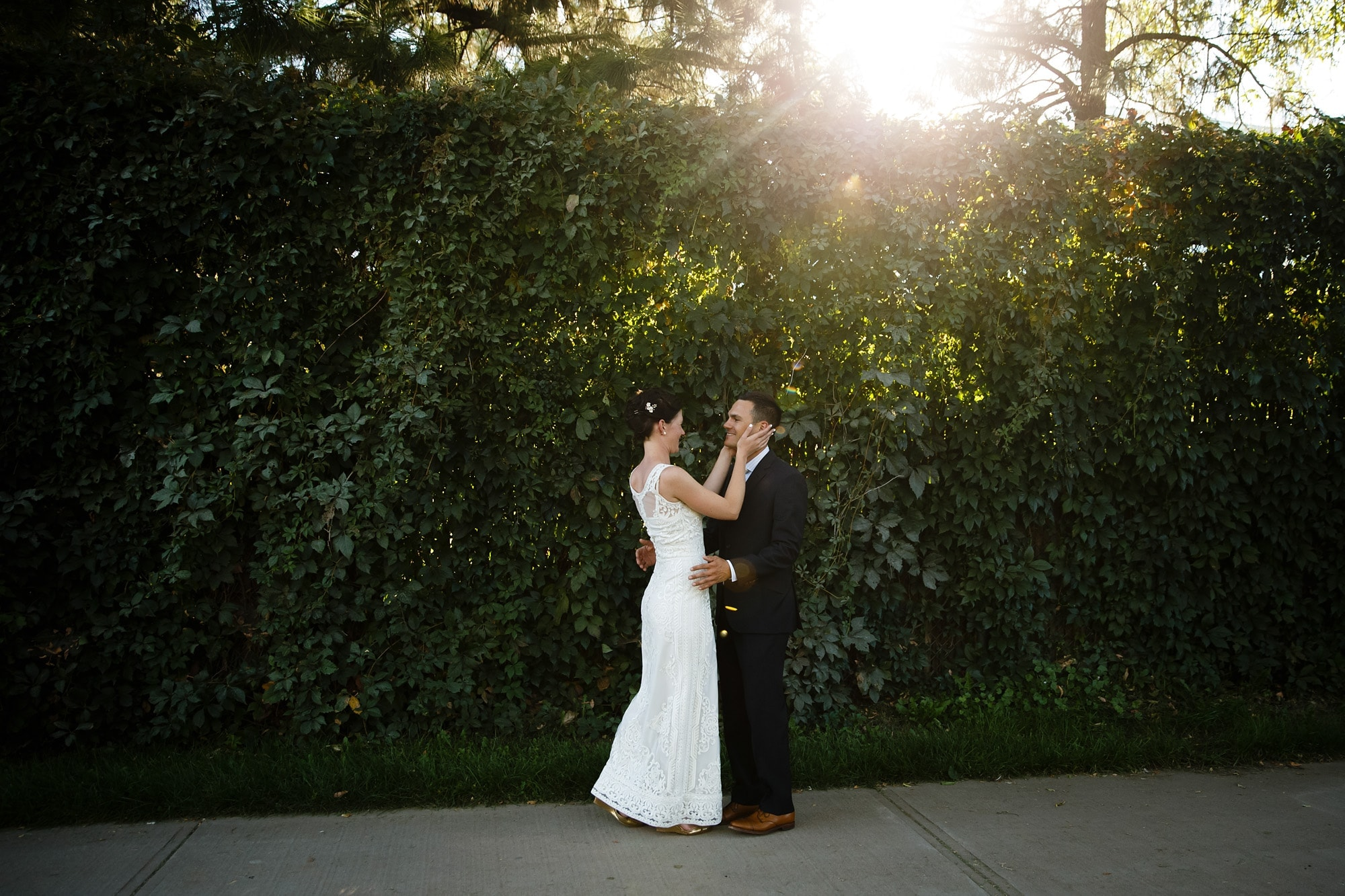 Amanda and Cuyler's first look near the Denver Zoo and Denver Museum of Nature and Science