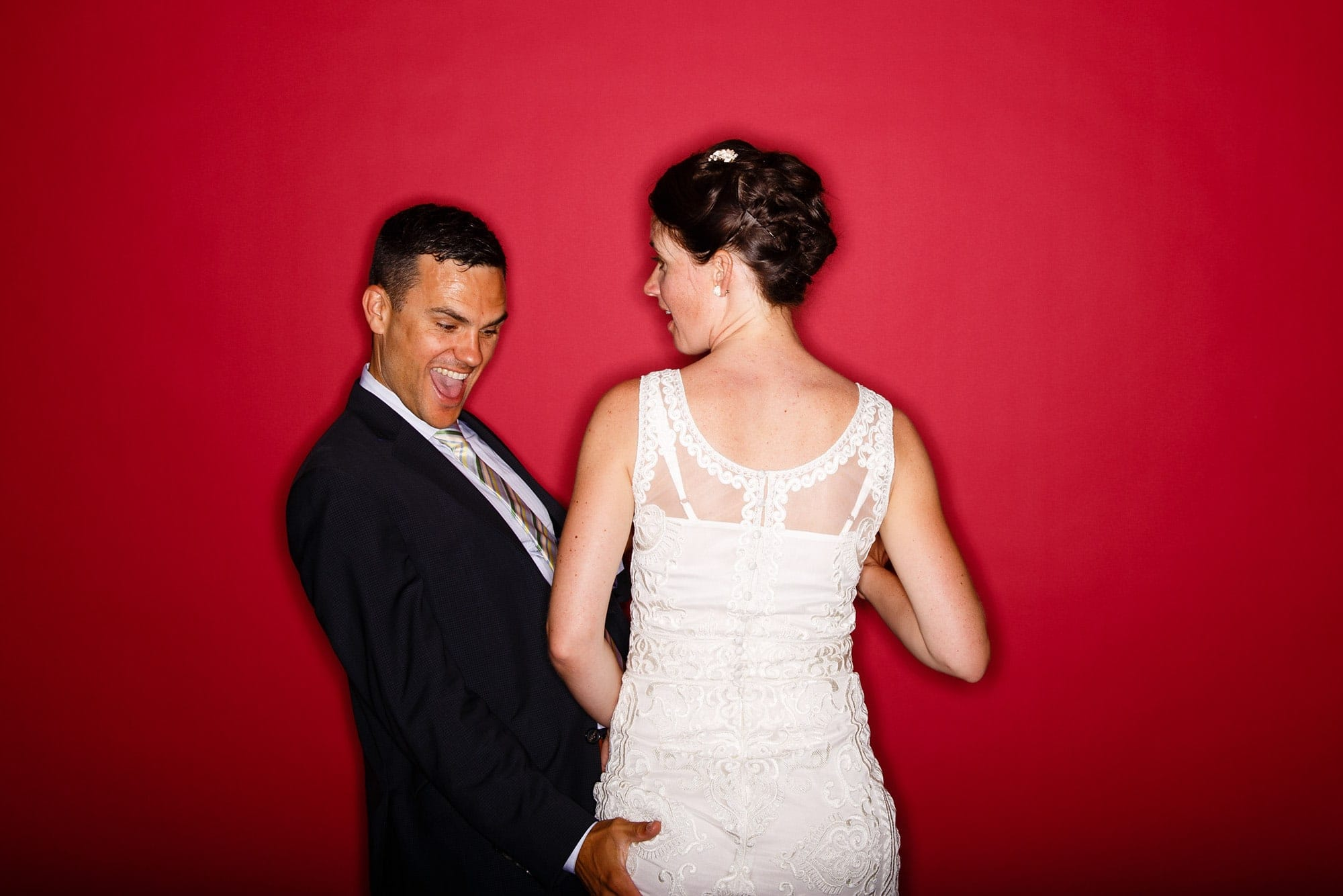Denver Museum of Nature and Science wedding photobooth from Justin Edmonds Photography