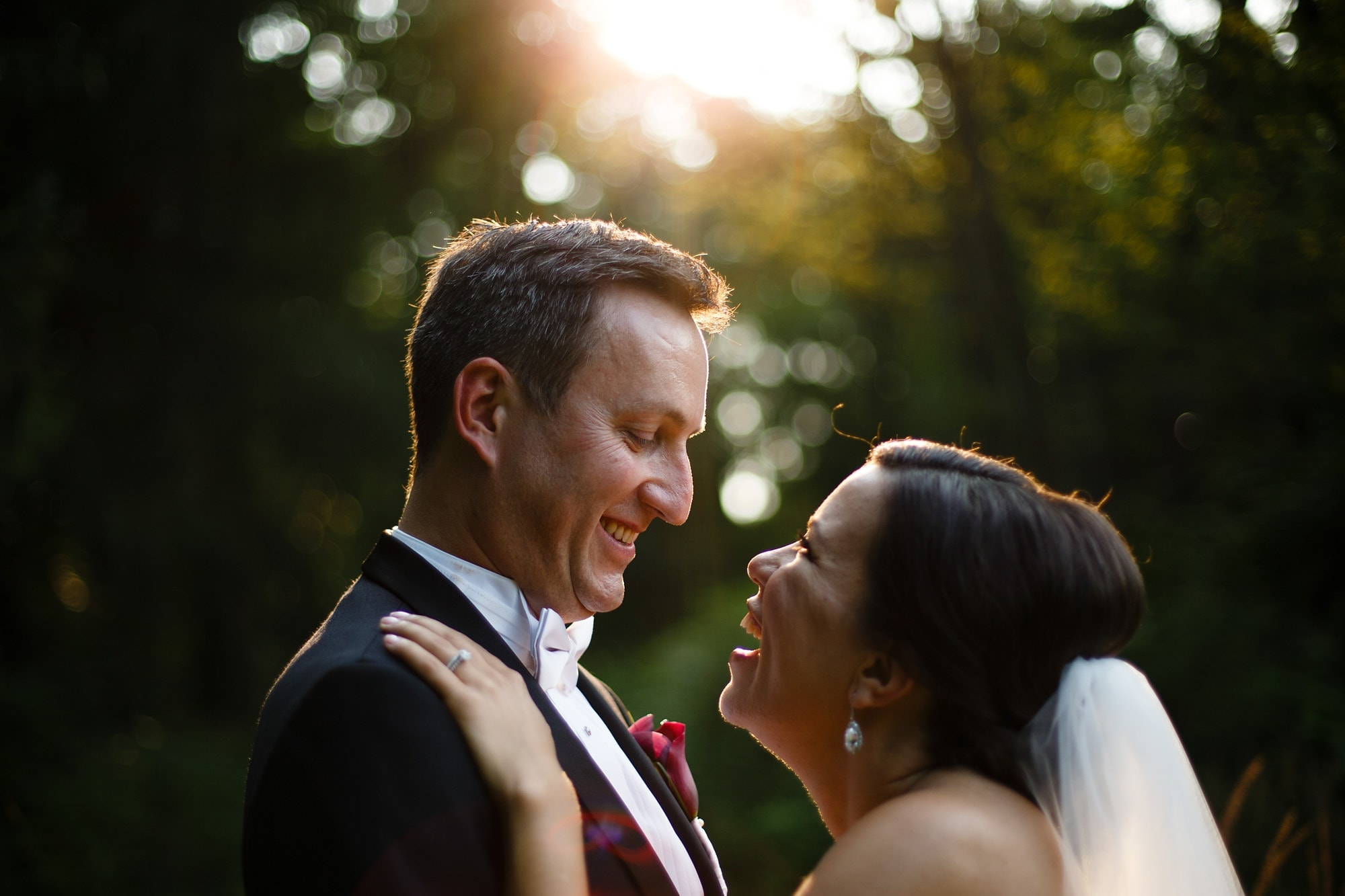 Allerton Park wedding photo from Megan and Manfred's celebration in Monticello, Illinois