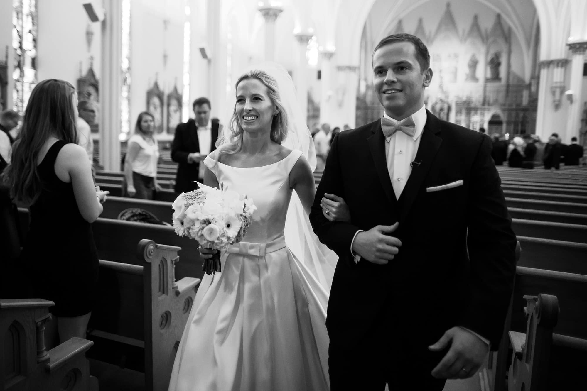 Cathedral of Saint Raphael wedding photos