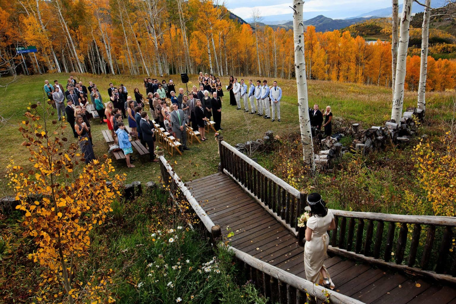 Lynn Britt Cabin Wedding