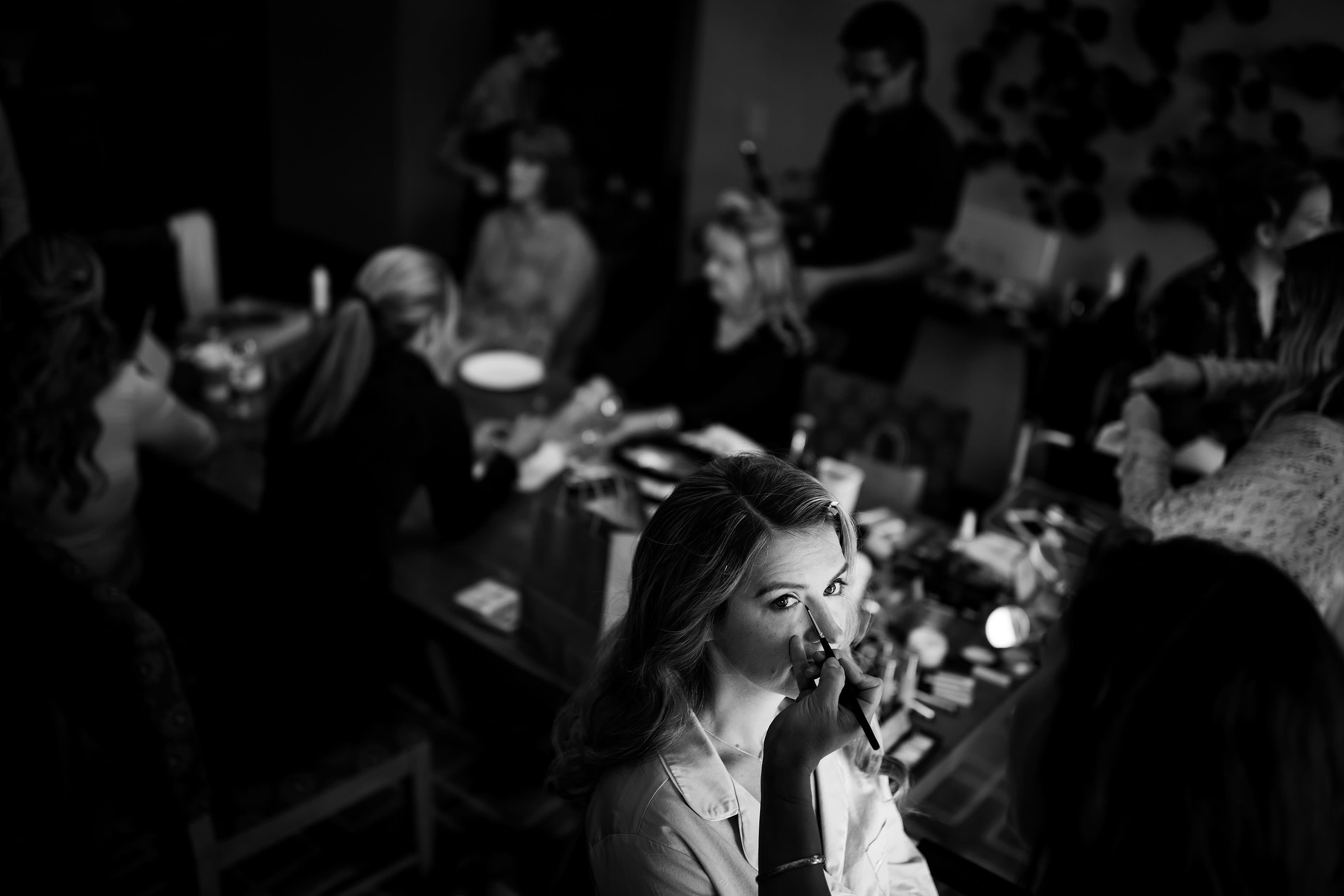 bride makeup in breckenridge
