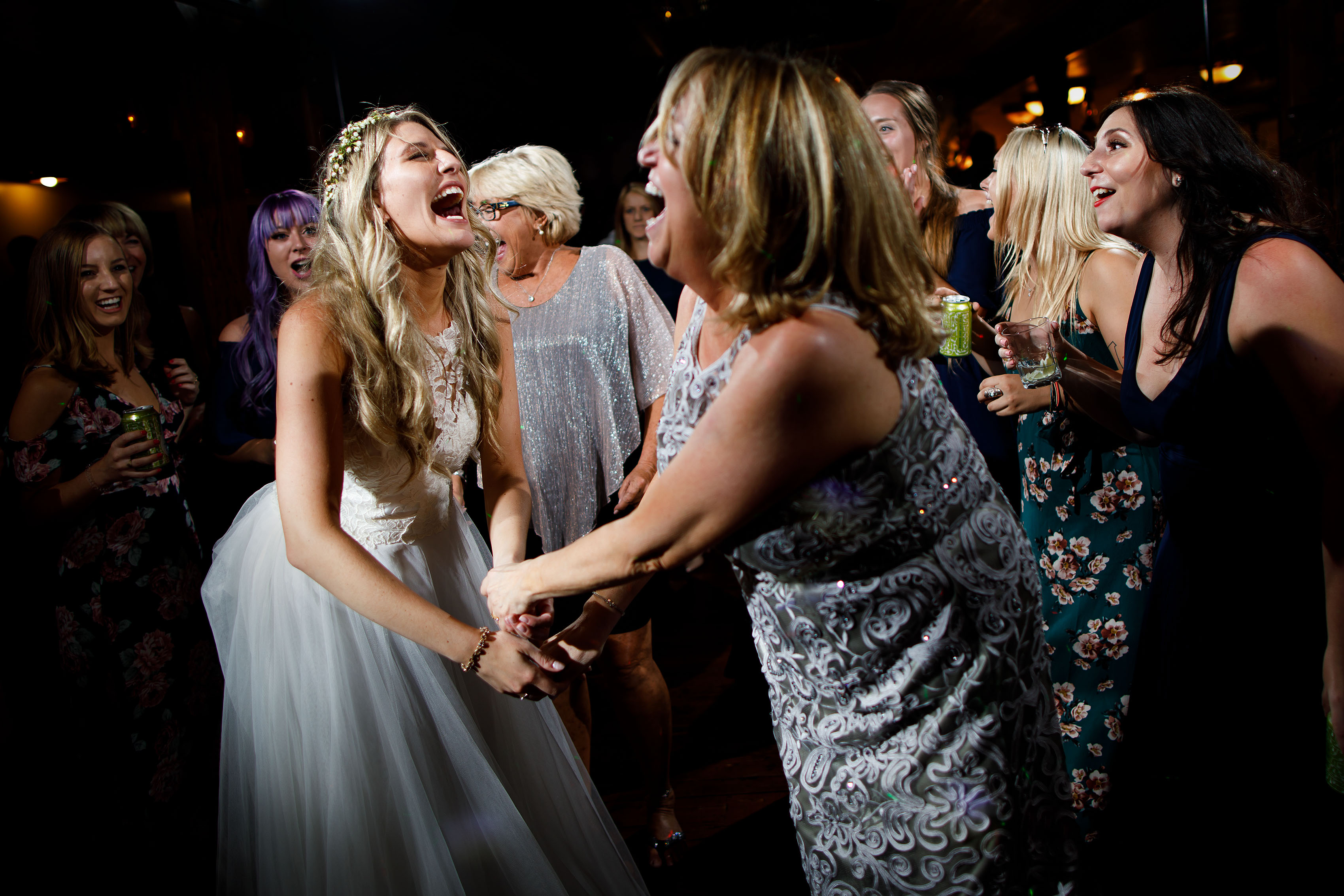 Deer Creek Valley Ranch Wedding reception