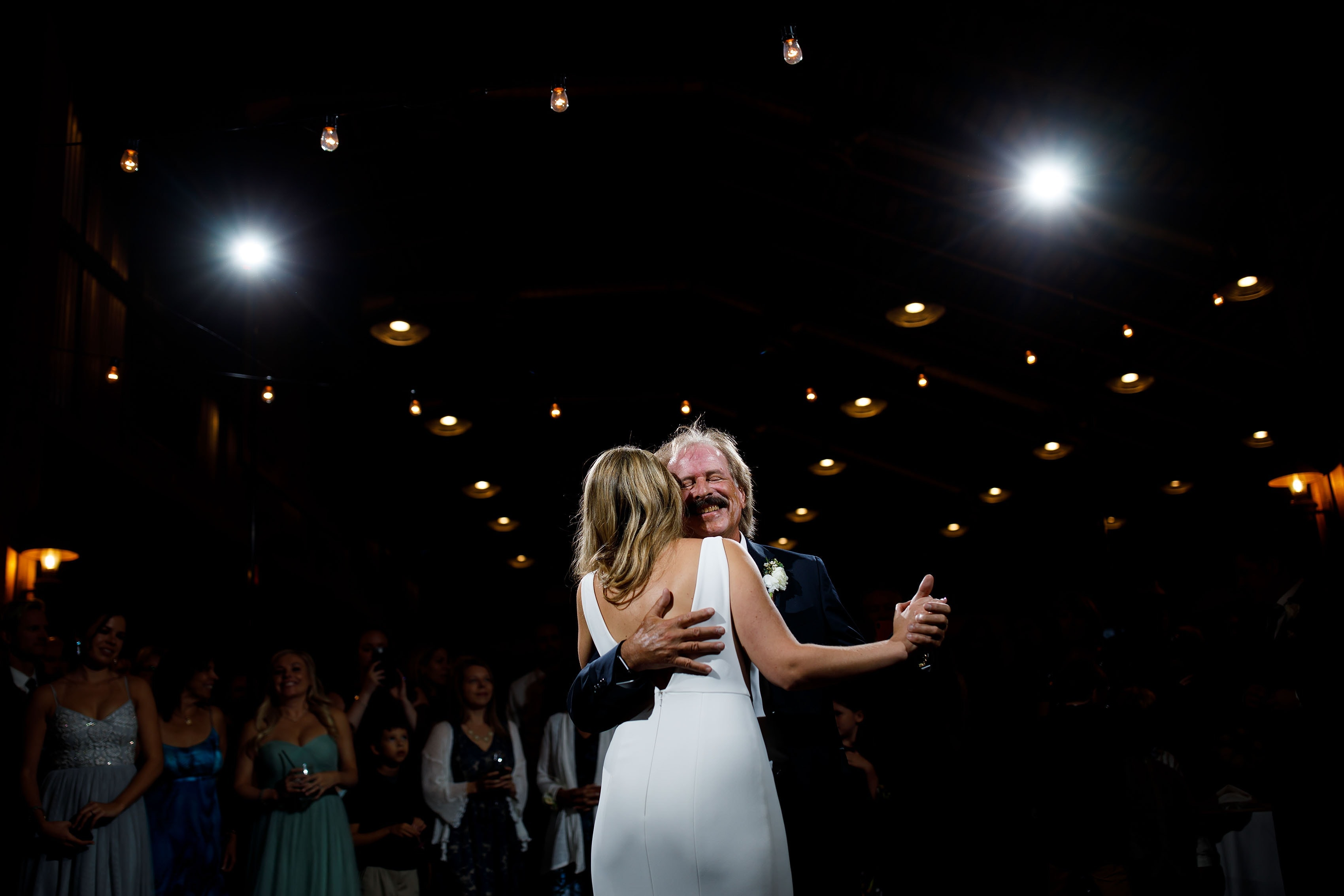 Heather dances with her father