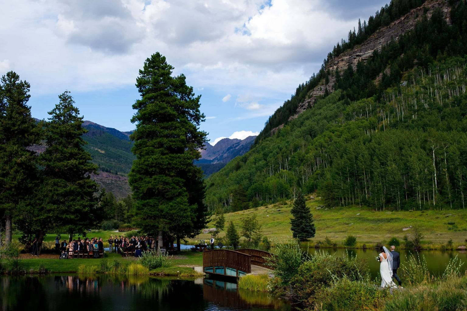 Vail Golf Club Wedding