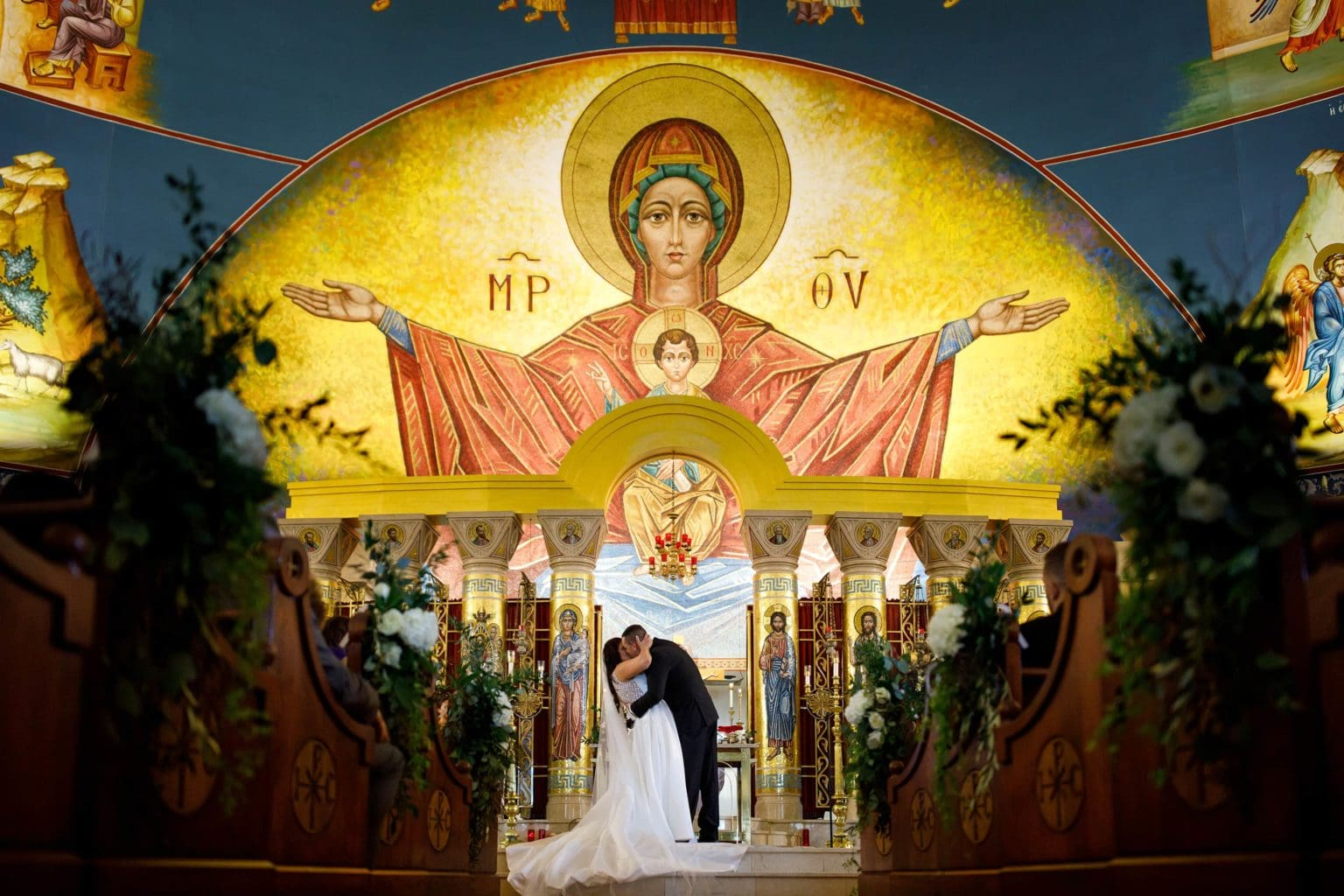 Greek Orthodox Cathedral of Denver Wedding