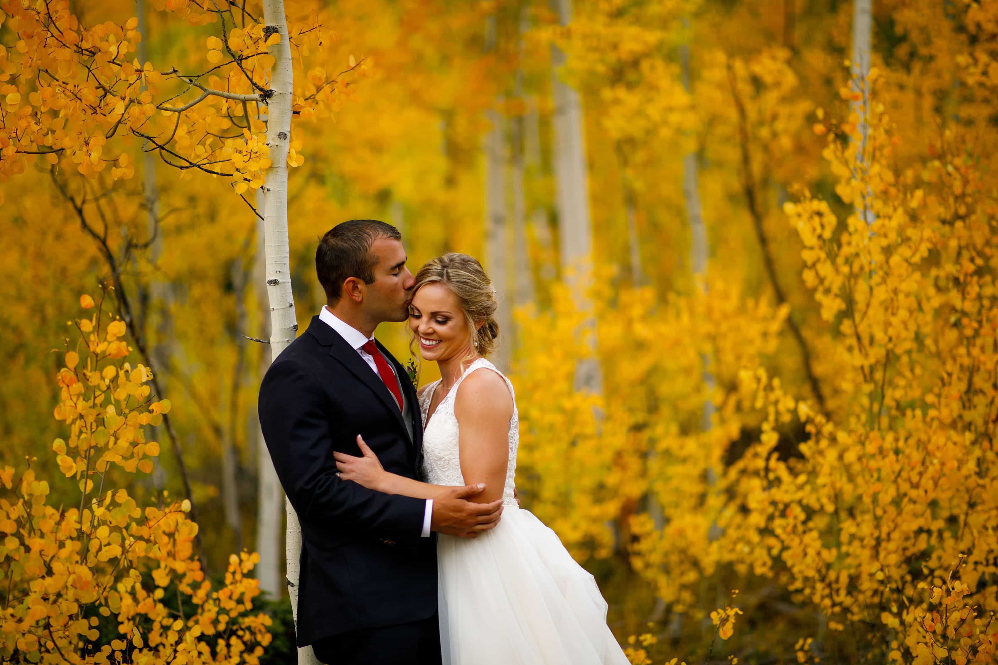 Meghan & Kevin's Fall Colors Wedding at Camp Hale