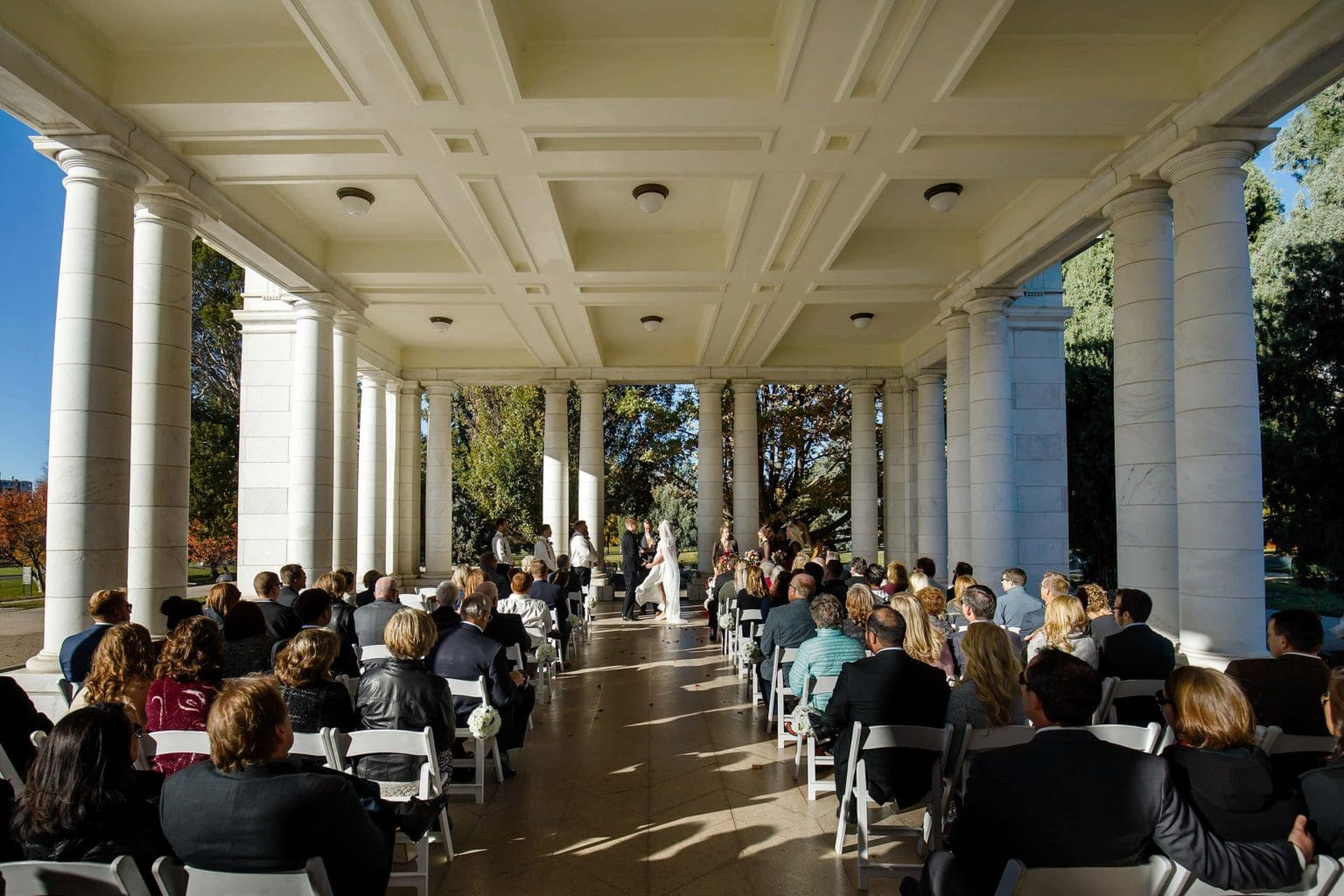 The Pavillion at Cheesman Park Wedding