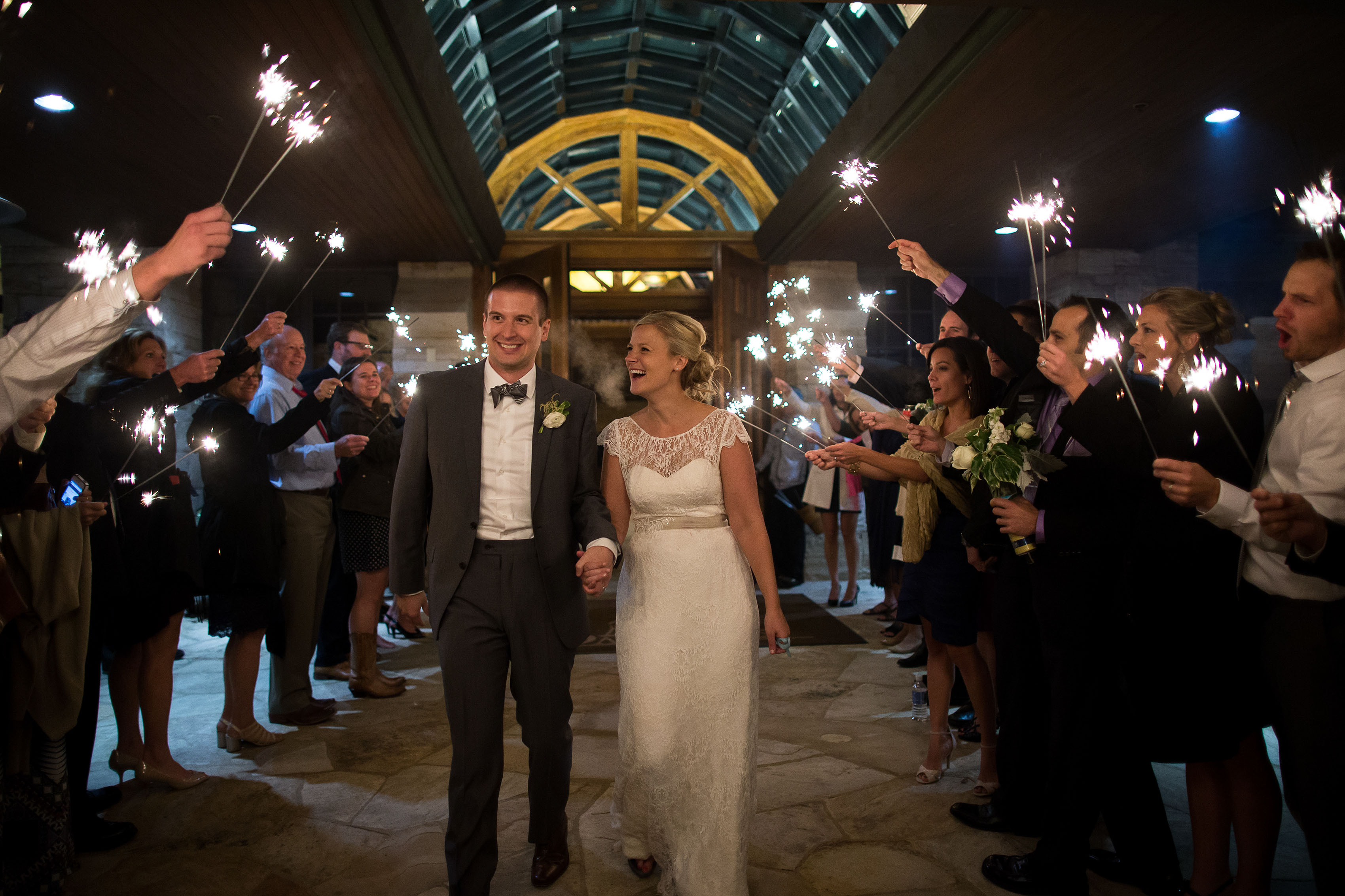Ross and Emily's Sanctuary Golf Course Wedding