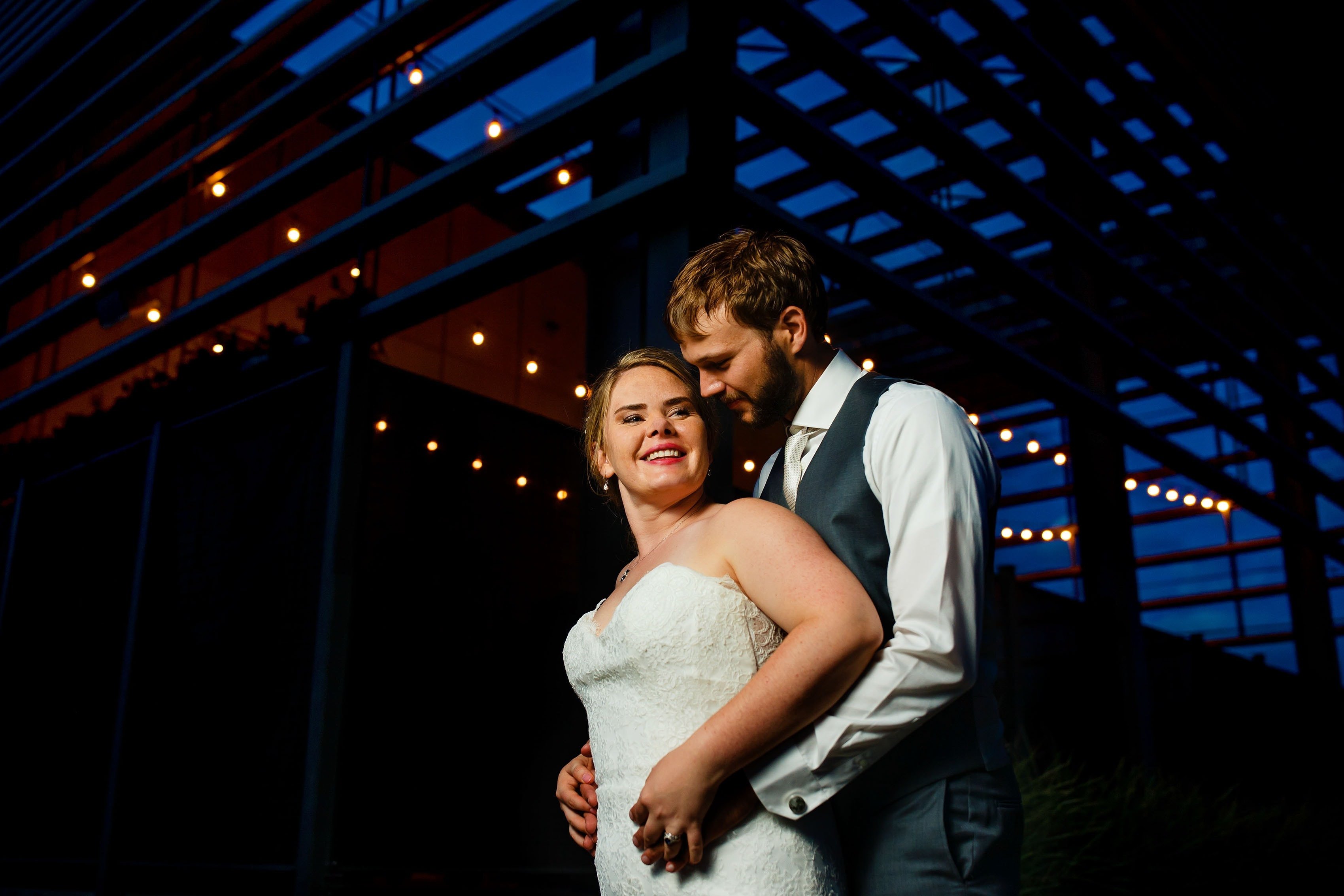 Coza & Joel's Outdoor Art Gallery Wedding in Denver