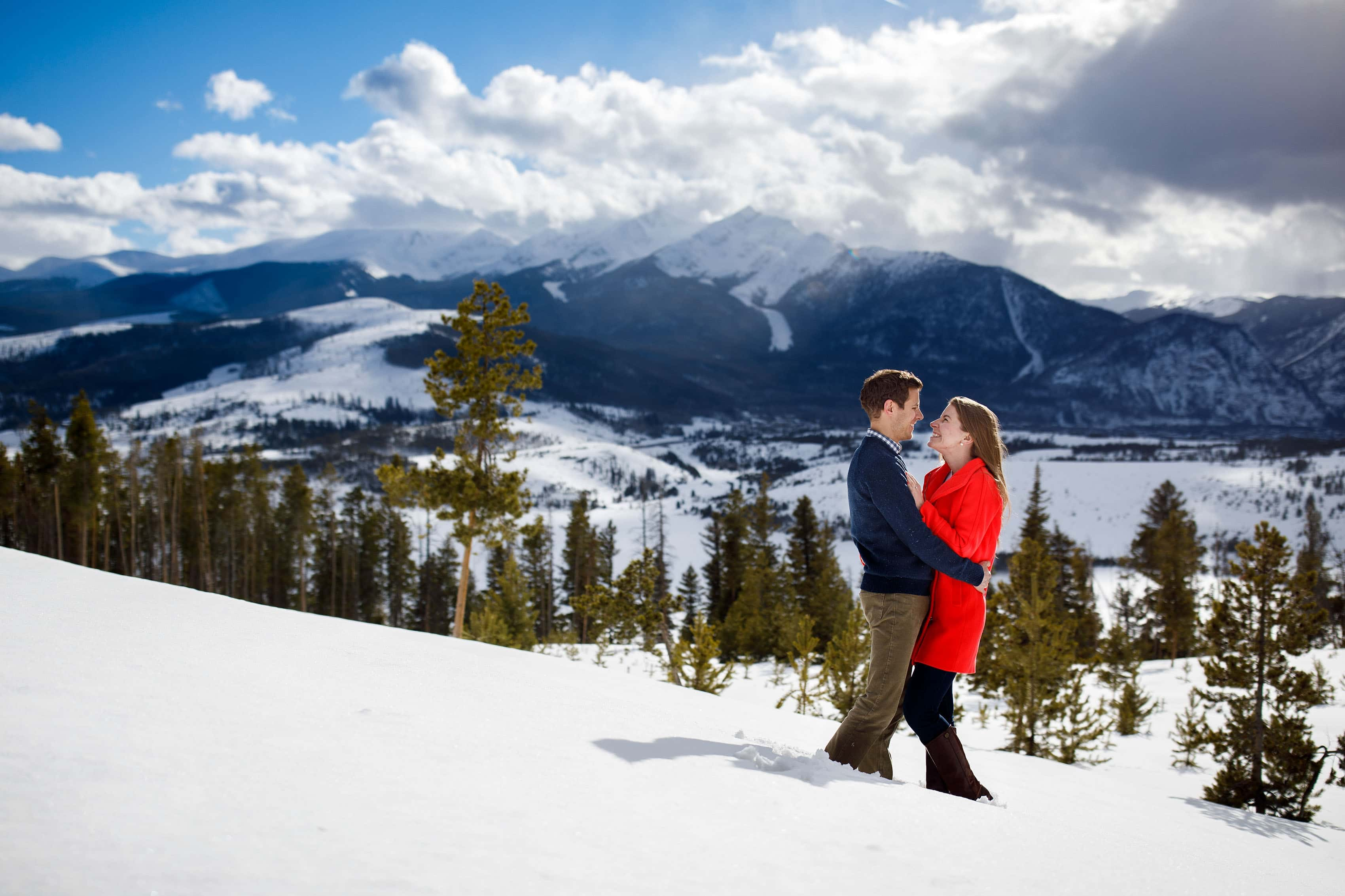 Winter Keystone Engagement | Jessica and Mike