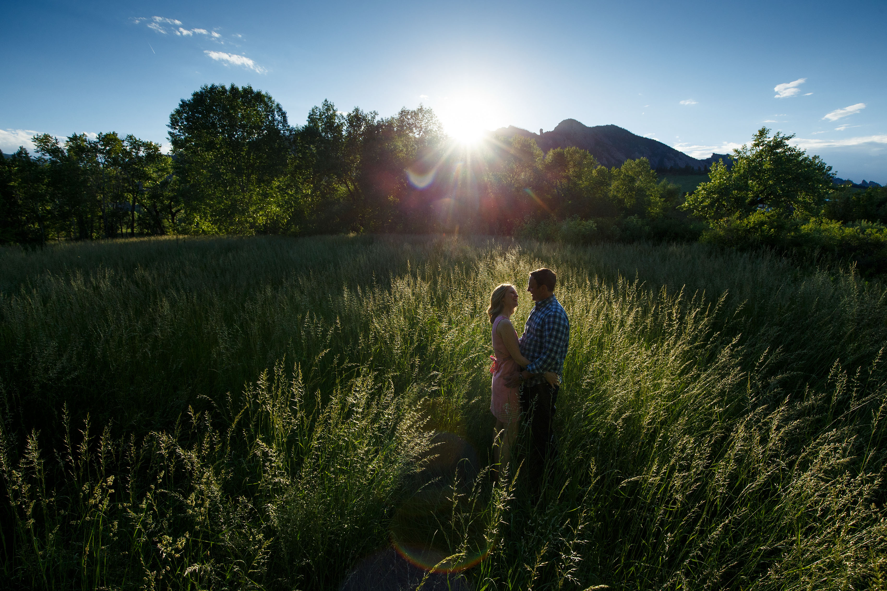 Eldorado Springs engagement | Kristy and Jonathan