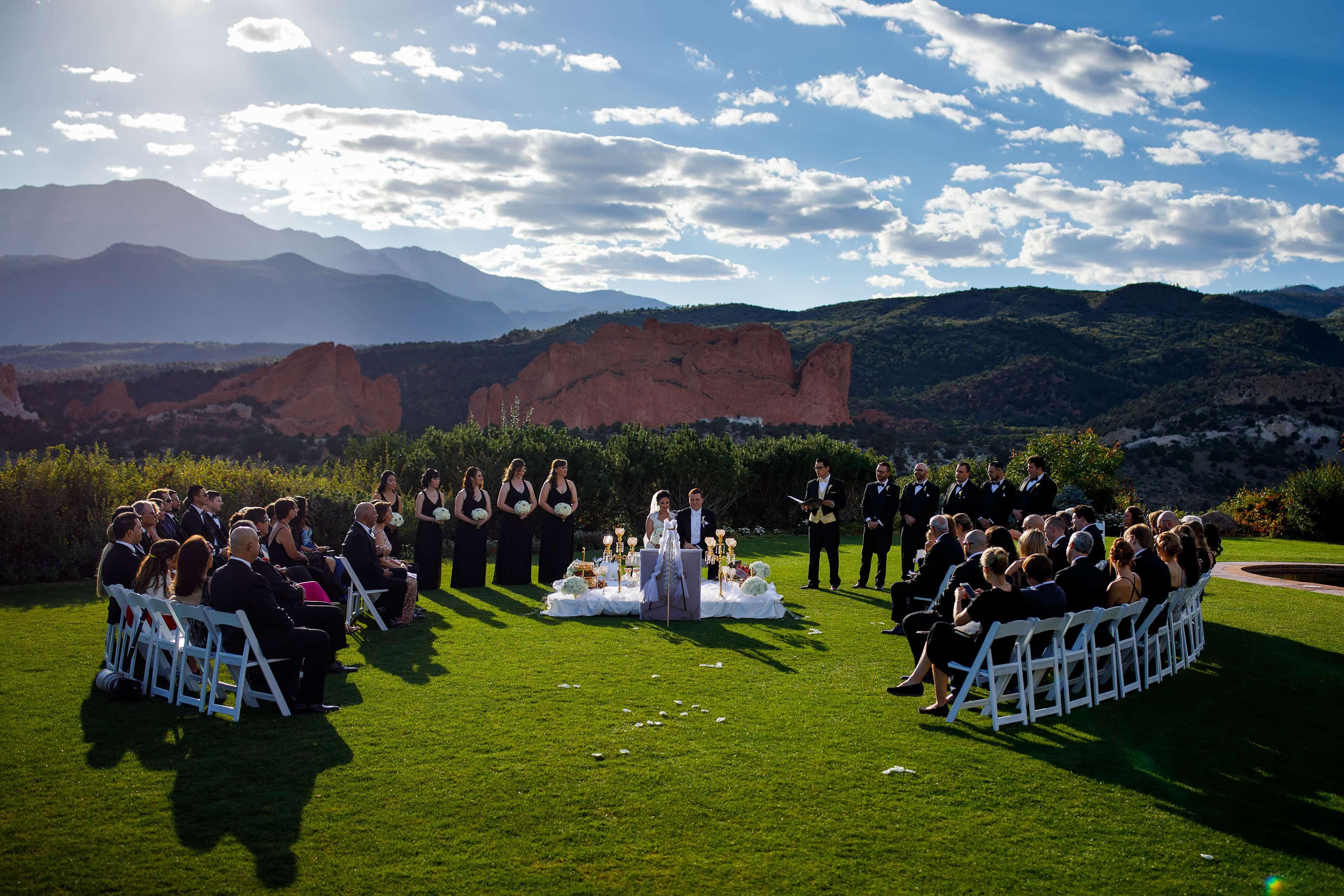 Garden Of The Gods Club Wedding Venue Justin Edmonds