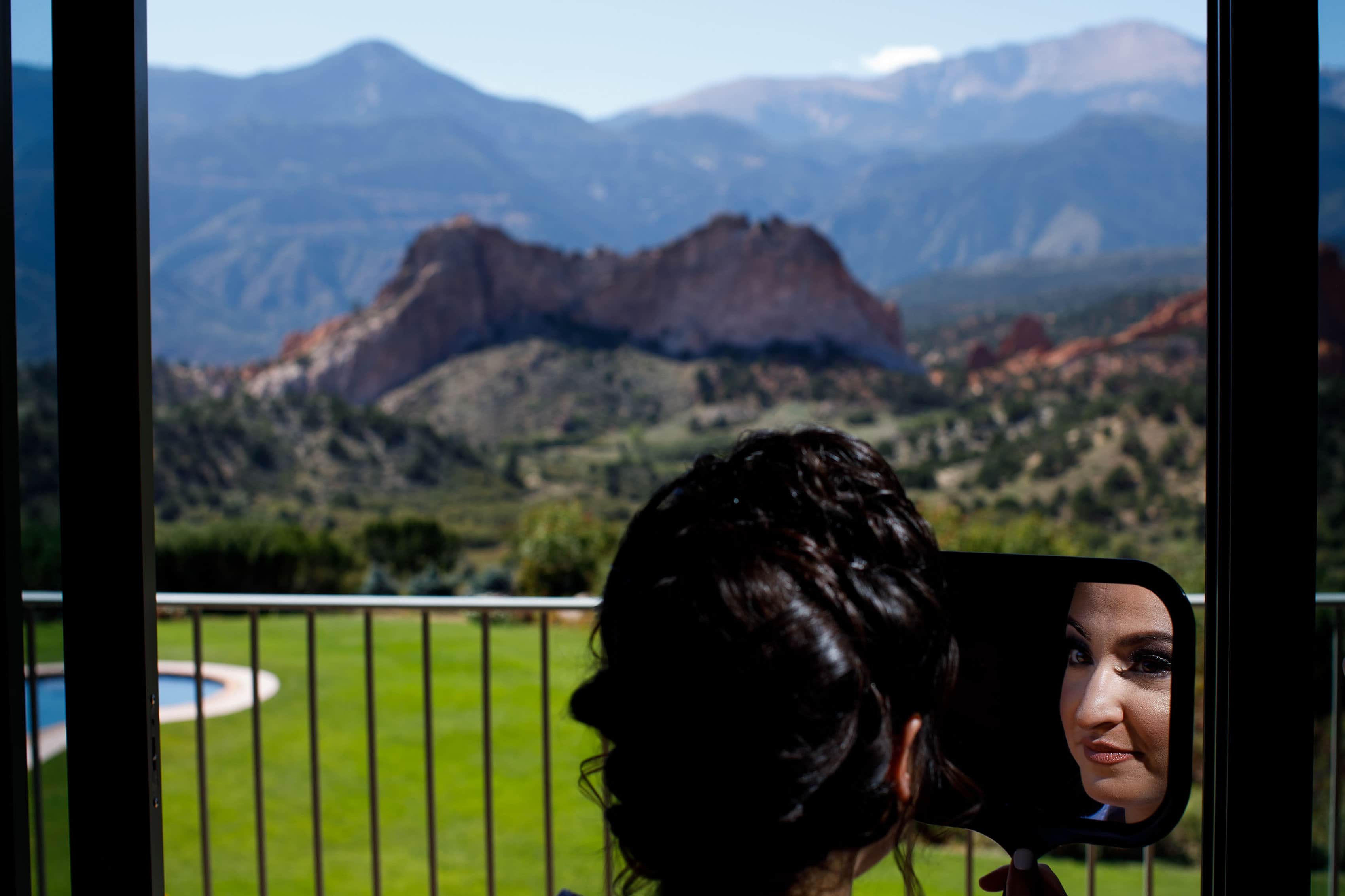 Bridal suite at Garden of the Gods Club