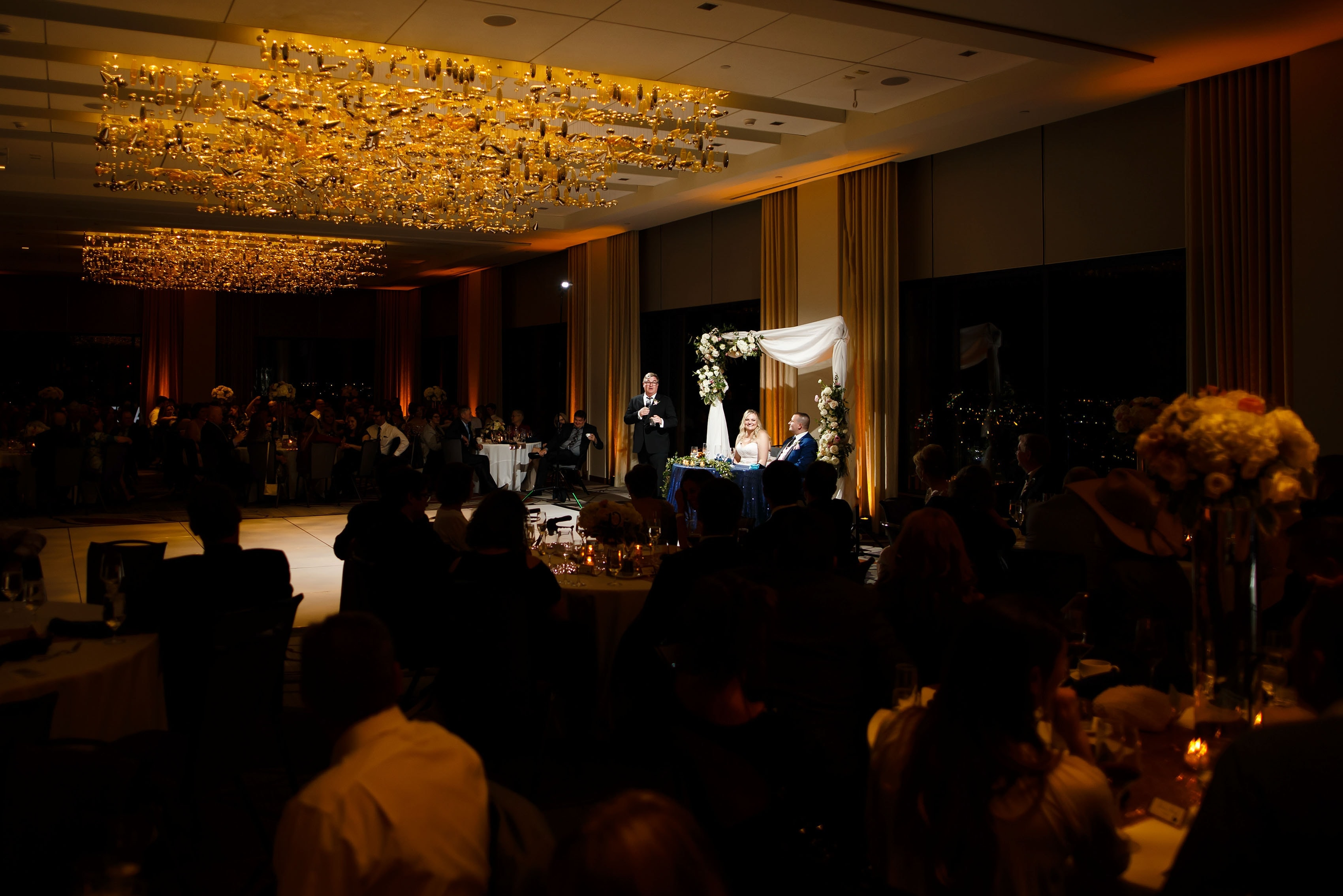 Pinnacle Club wedding at the Grand Hyatt Denver