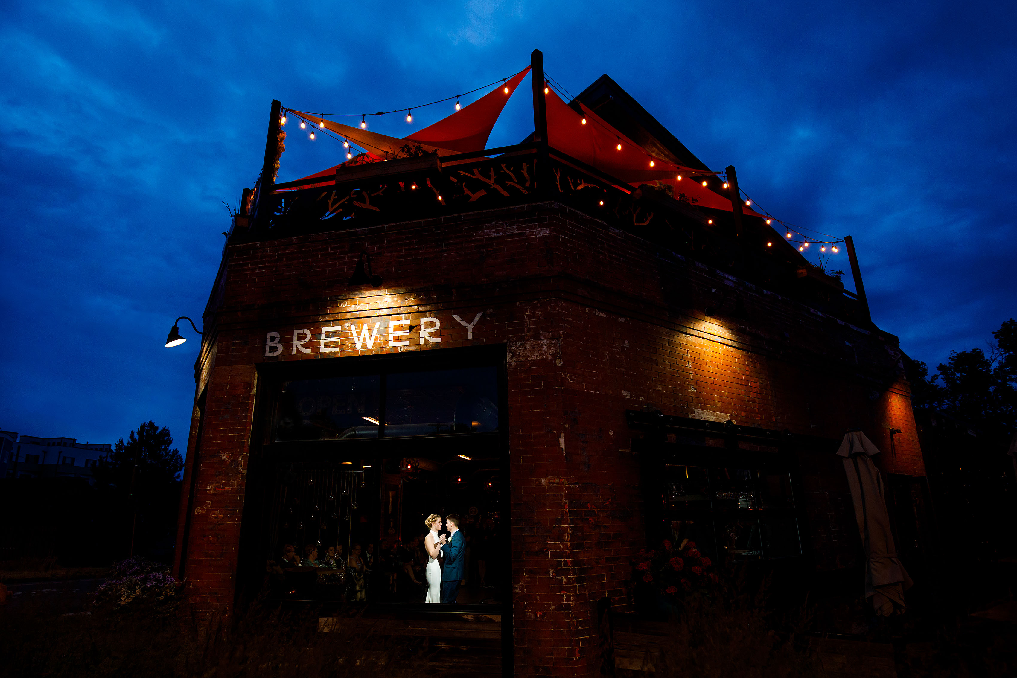 Summer Brewery Wedding in Denver | Holly & Hayden