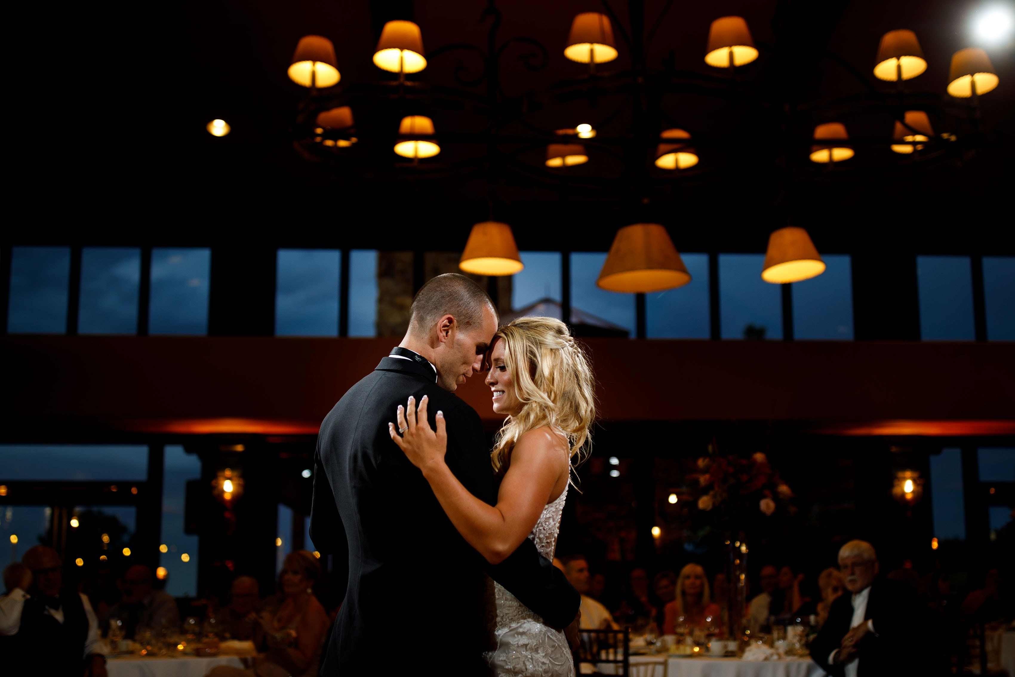 First dance during a Cheyenne Lodge wedding reception at The Broadmoor