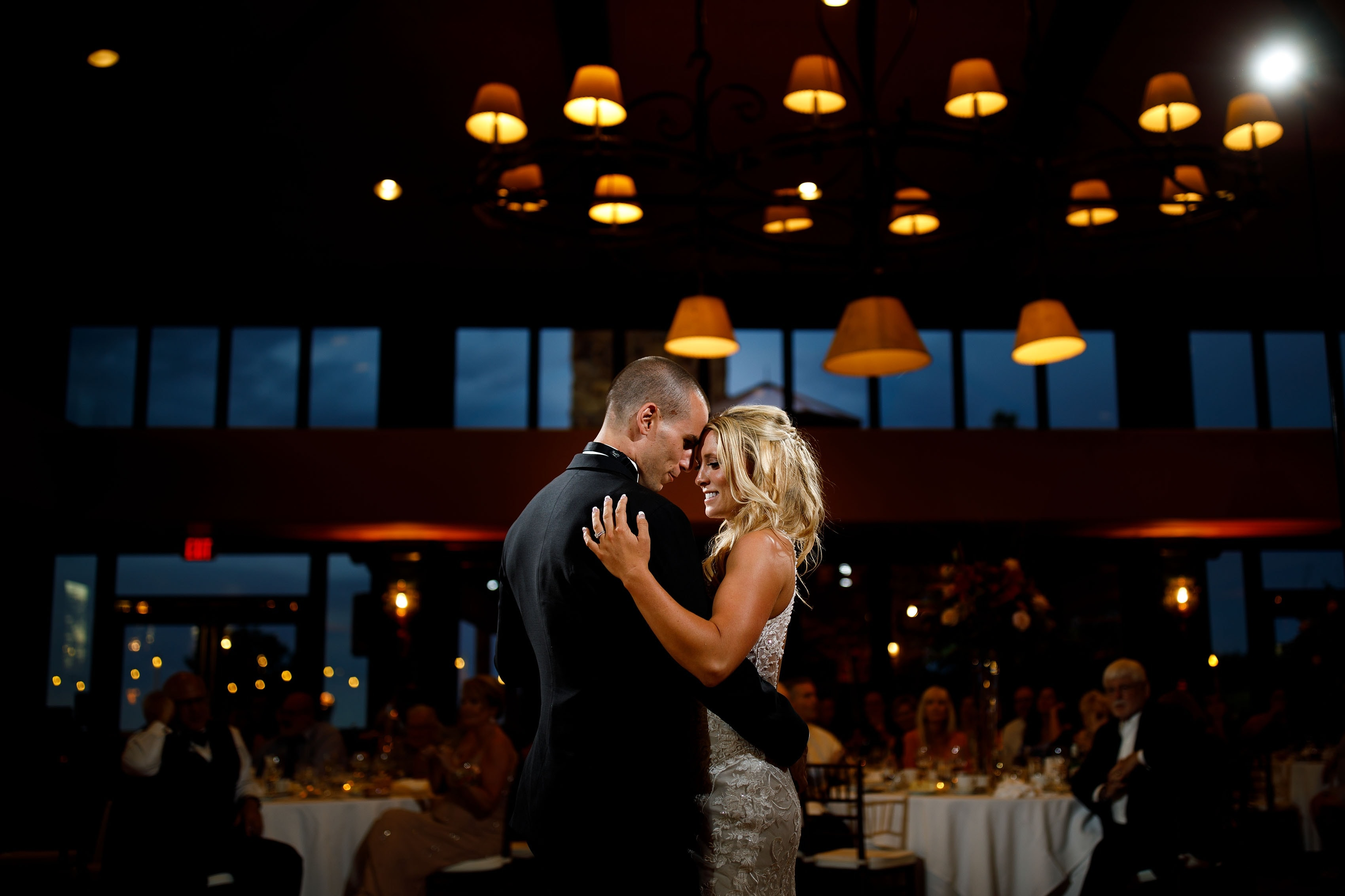 First dance at Cheyenne Lodge