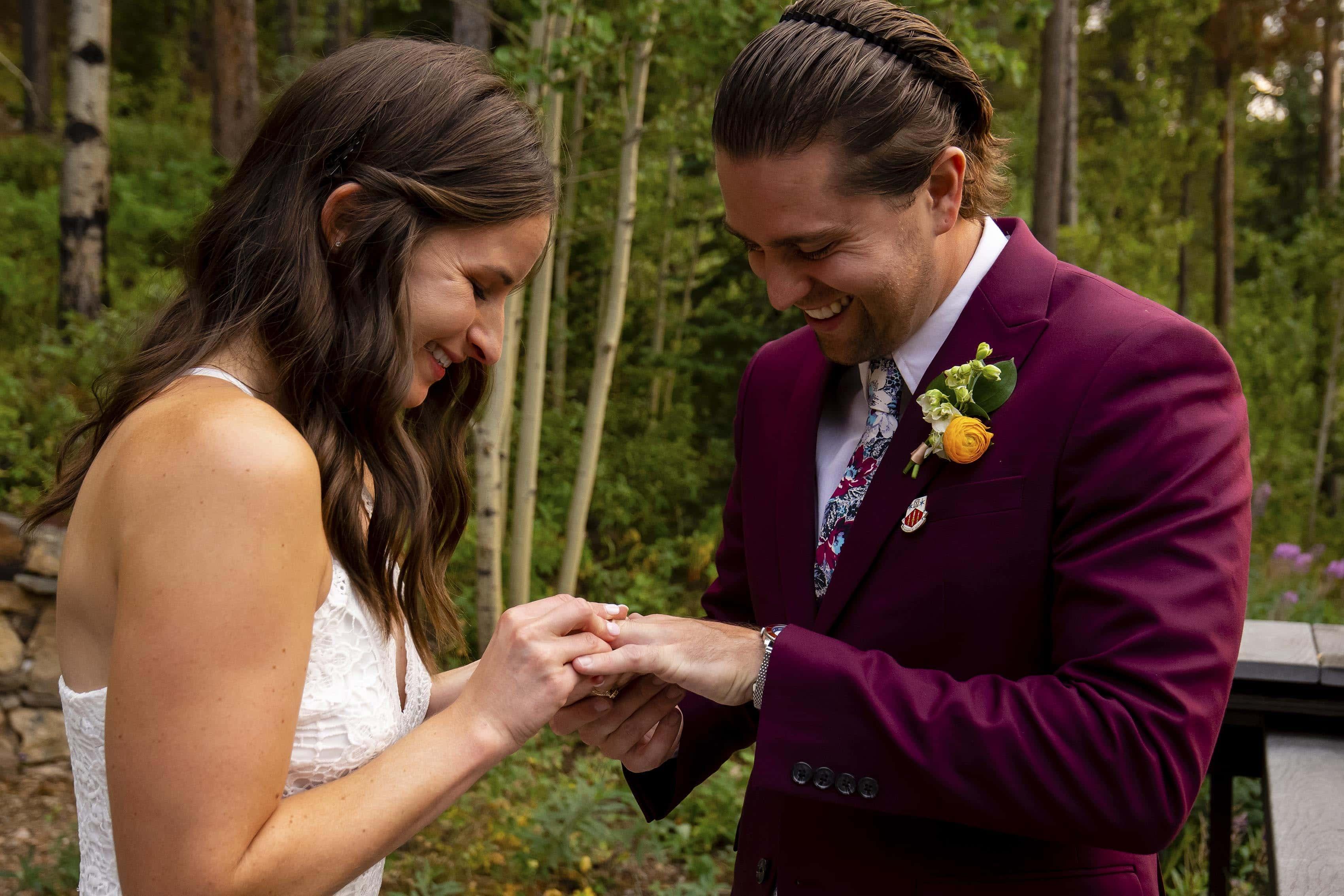 Marla puts on Chris' ring