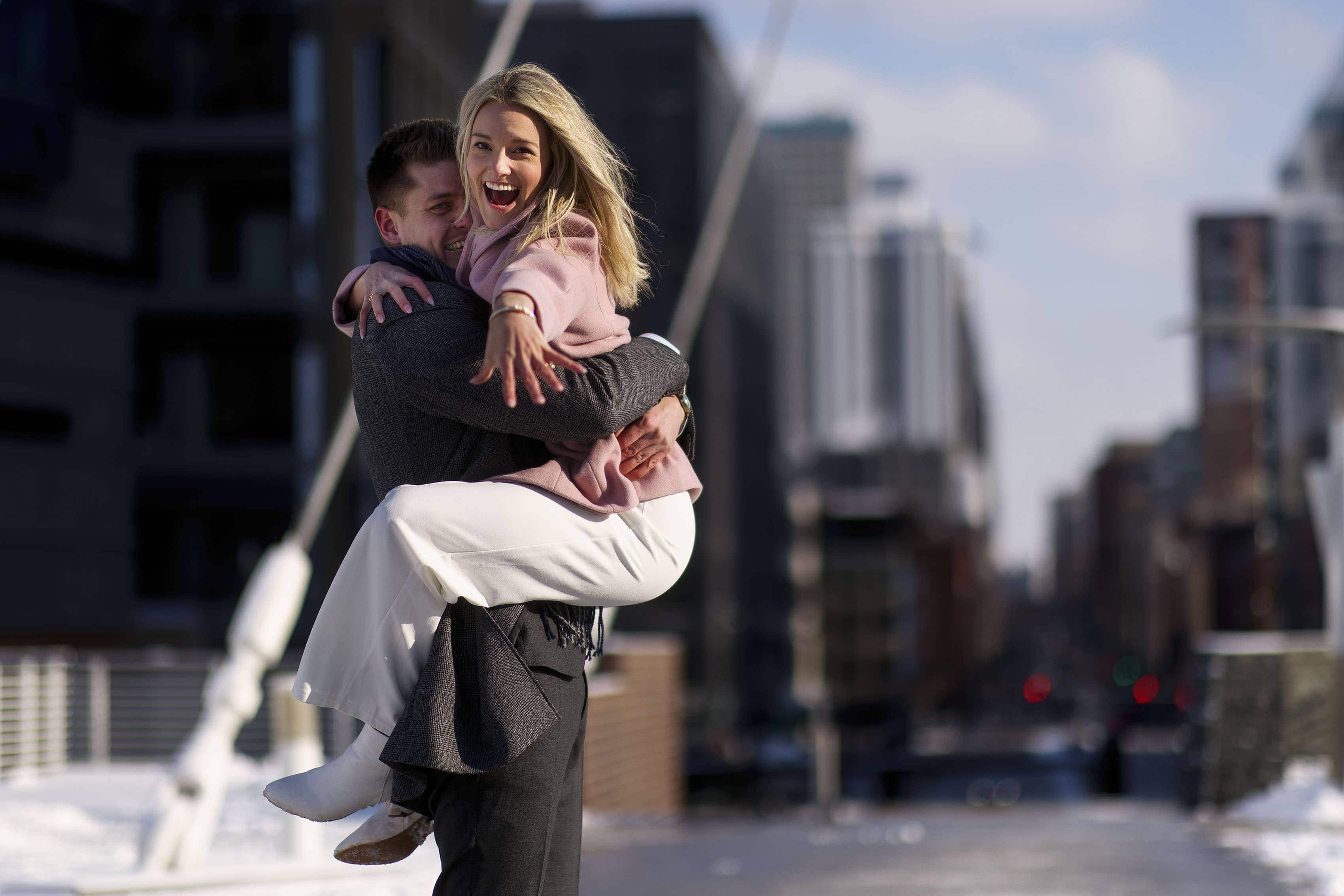 Valentine's Day Proposal in Denver | Willy & Kelly
